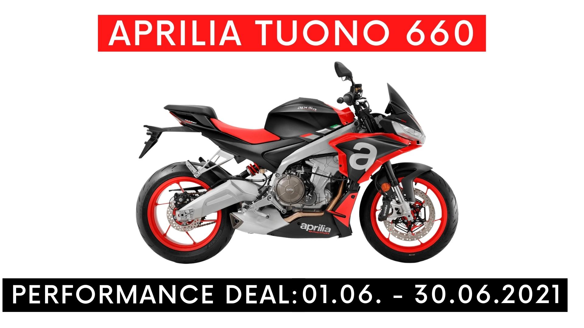 Aprilia Tuono 660 Performance Deal