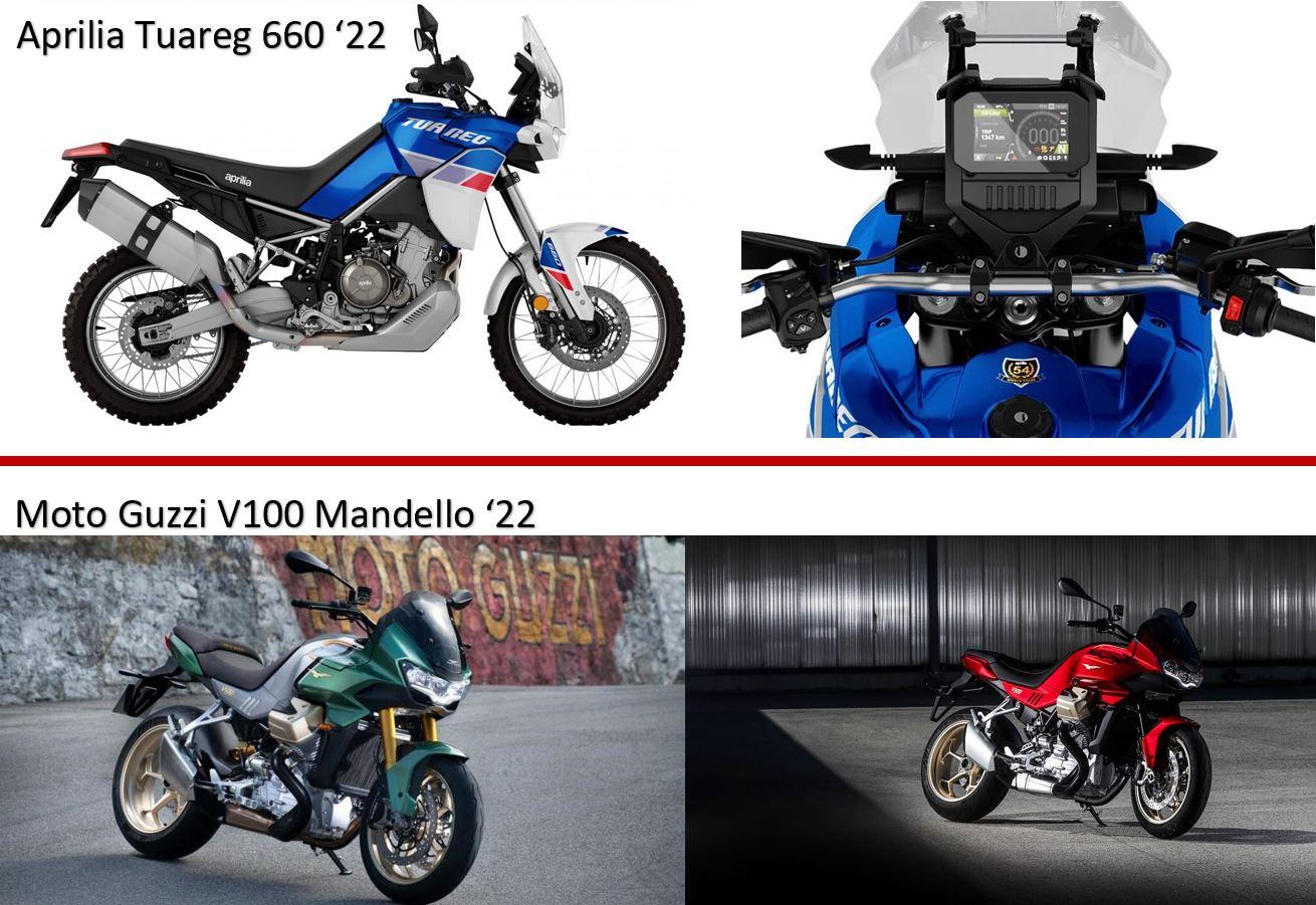 Jetzt Neu! Aprilia / Moto Guzzi Modelle 2022!