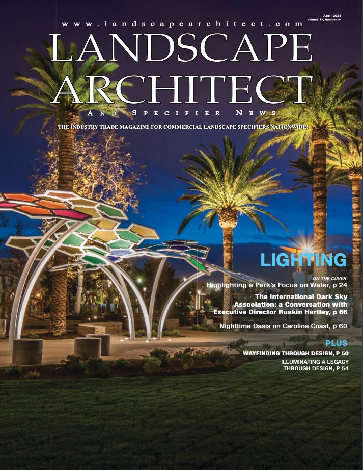 Landscape Architect April 2021 Cover Image