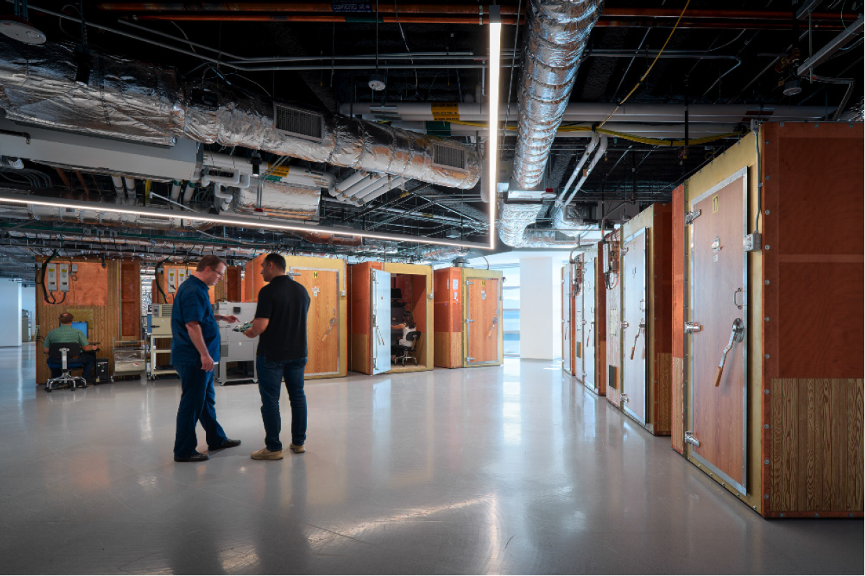 Broadcom Production Room