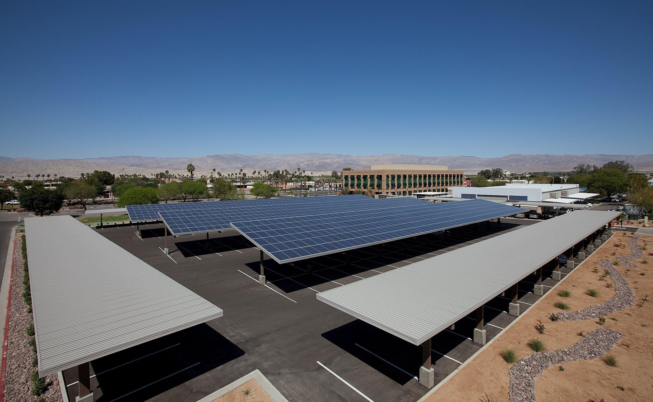 Parking Cover Solar Panels