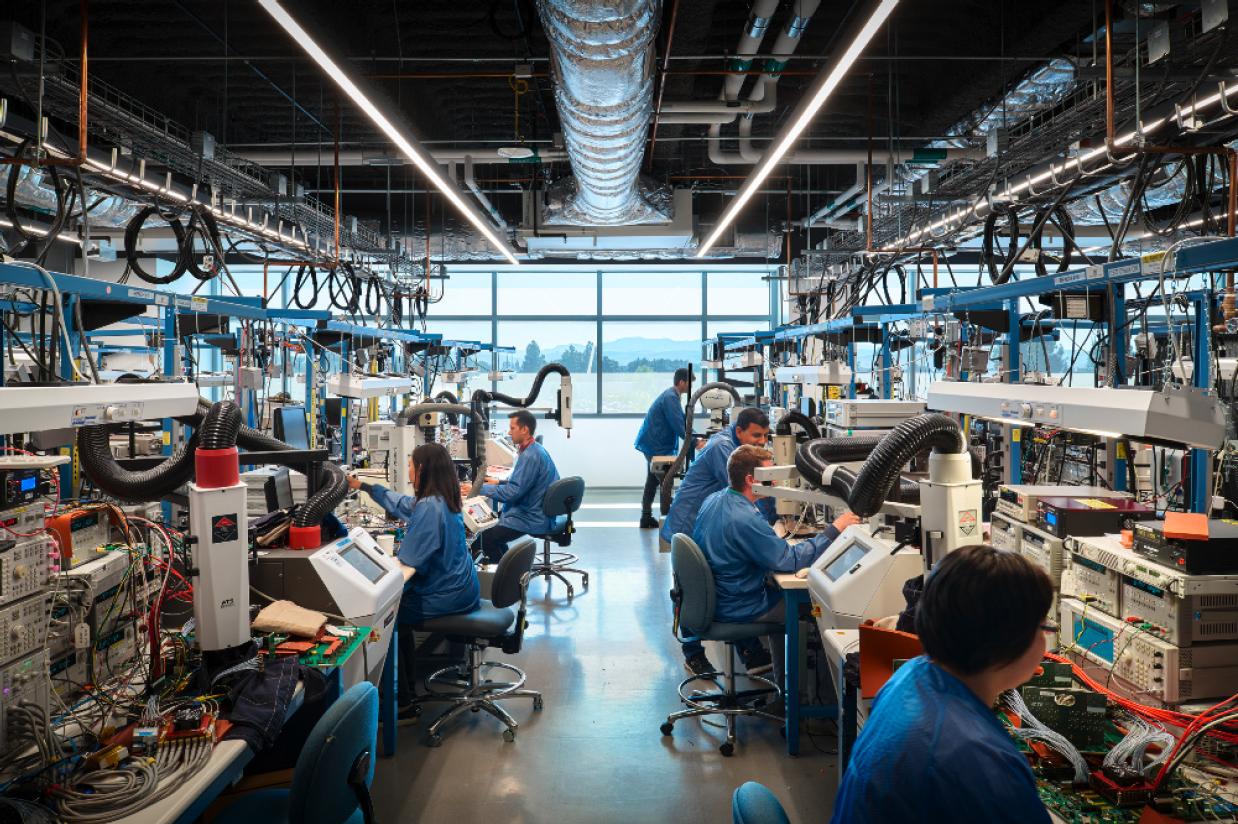 Broadcom Product Production Room