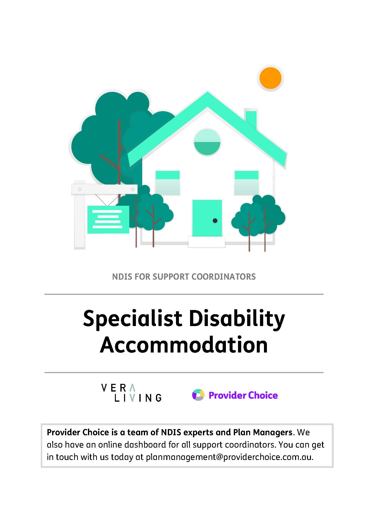 Guide to Specialist Disability Accommodation