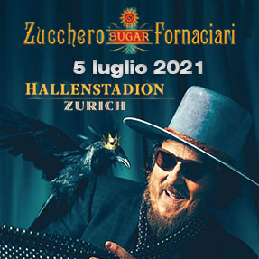 Tuttoitalia Zucchero 5 luglio 2021 Hallenstadion Zurigo