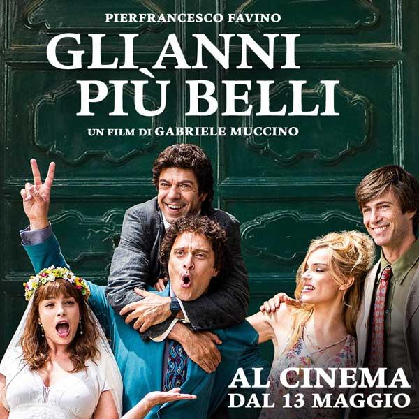 Gli Anni Più Belli, il nuovo film di Gabriele Muccino con Pierfrancesco Favino