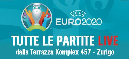 Tutte le partite LIVE dalla Terrazza Komplex 457 - Zurigo