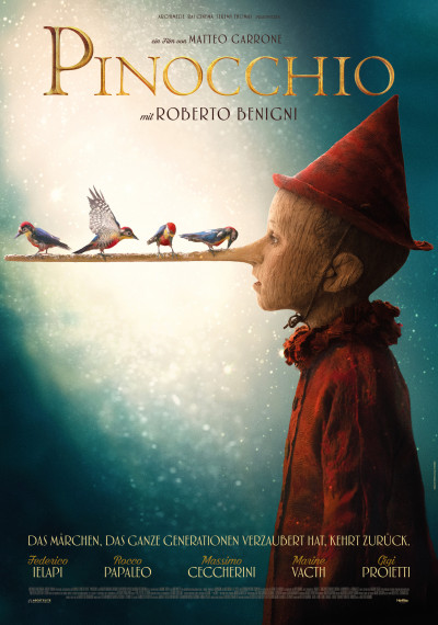 "With great anticipation, the film ""Pinocchio"" arrives in Swiss cinemas"