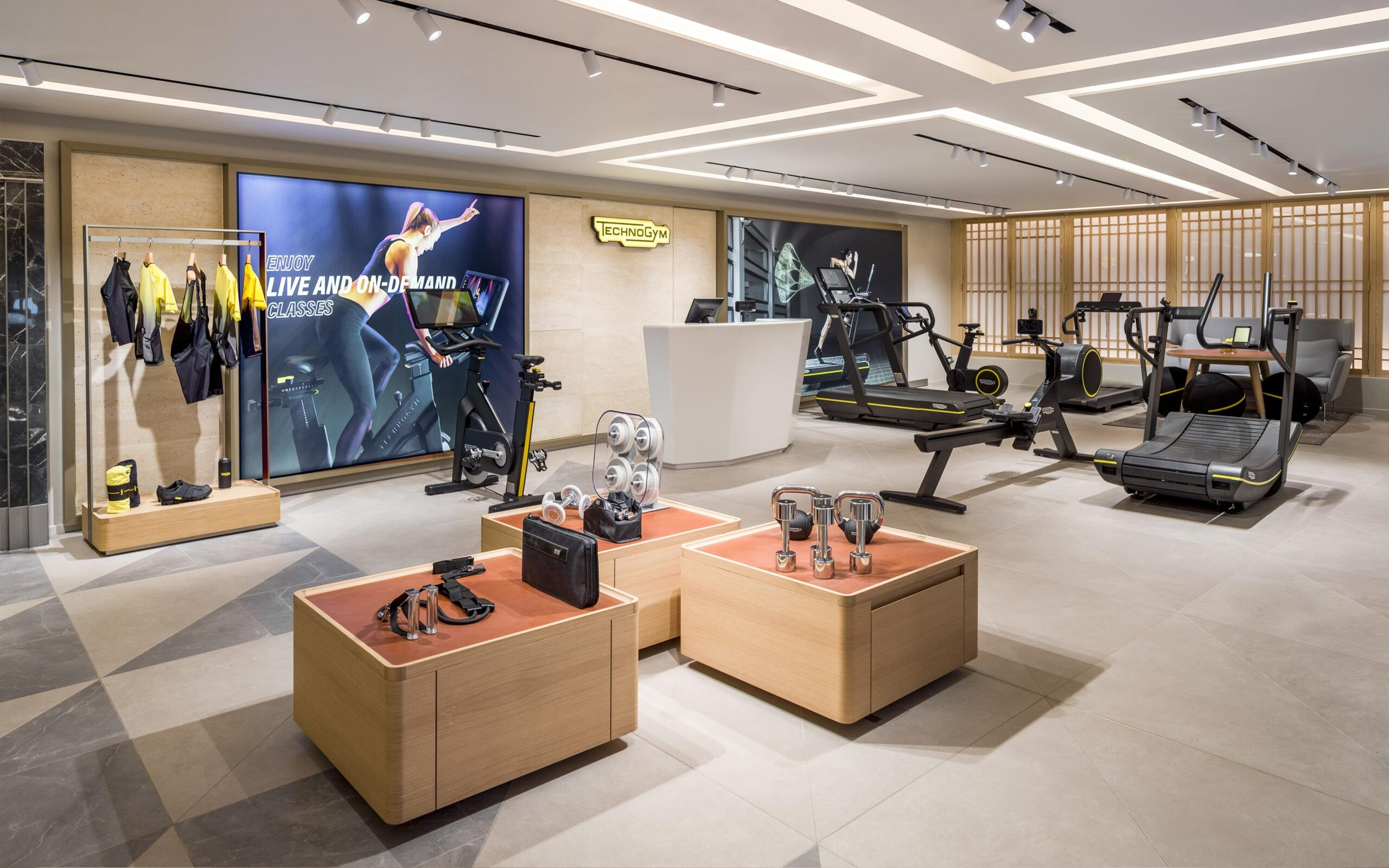 Technogym porta il wellness a Zurigo