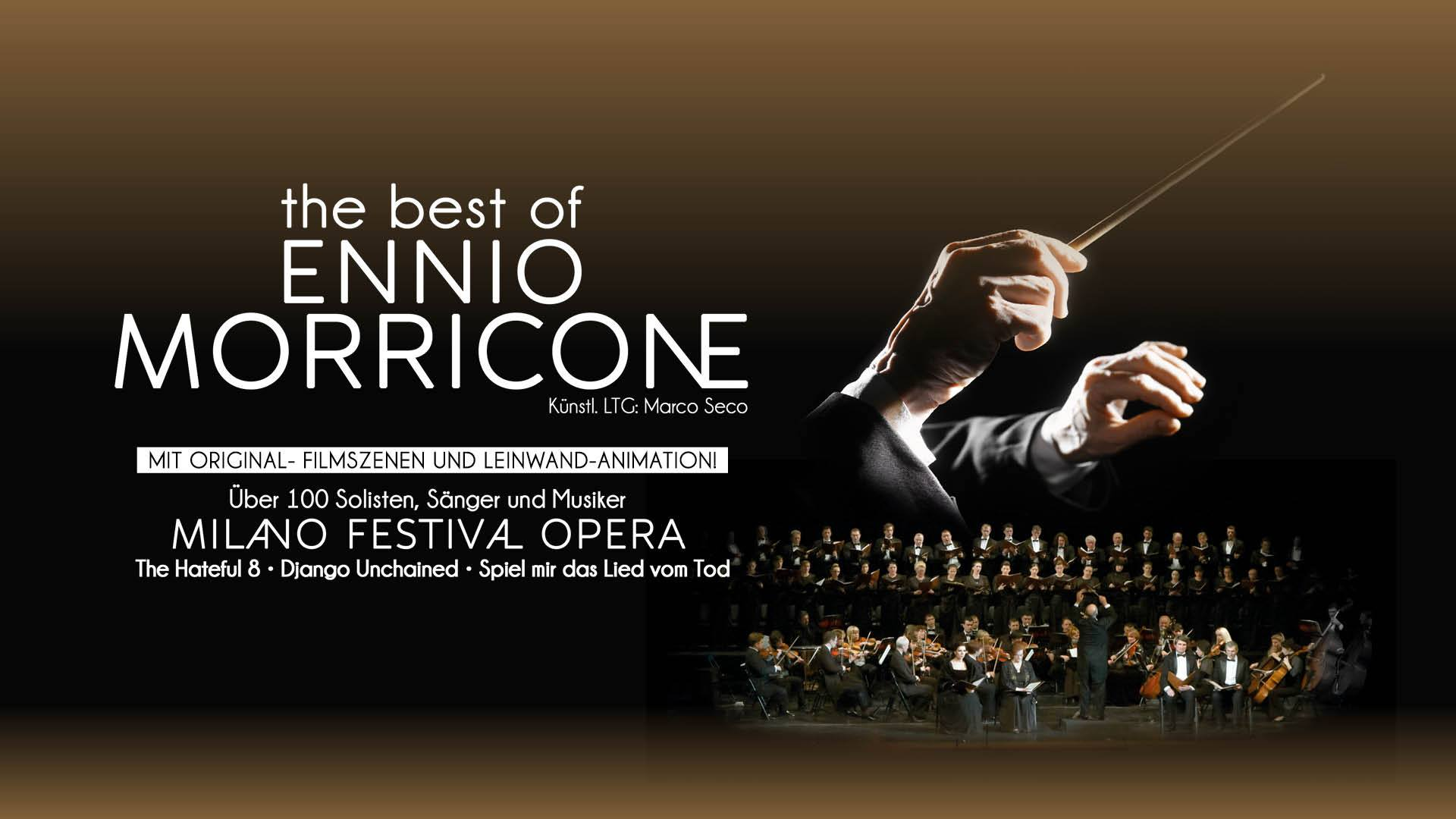 L'uomo dell'armonica torna in Svizzera in «The Best of Ennio Morricone» nel 2022