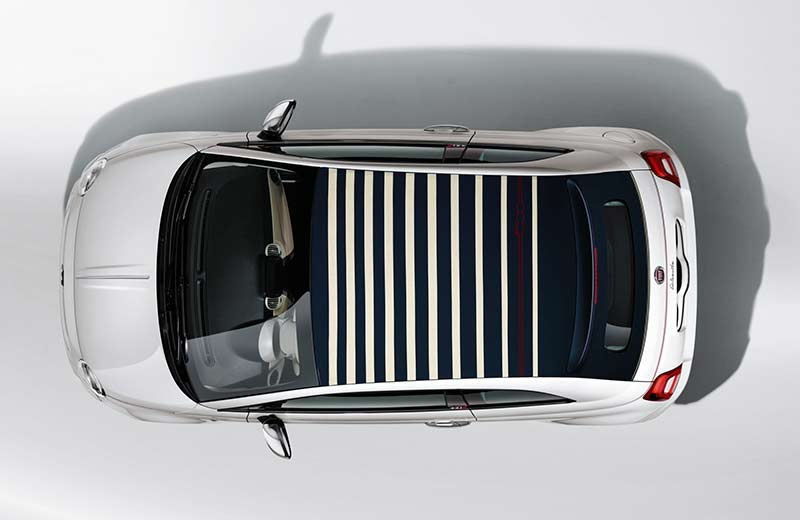 La serie speciale 500 Dolcevita celebra il 62° anniversario dell'icona Fiat