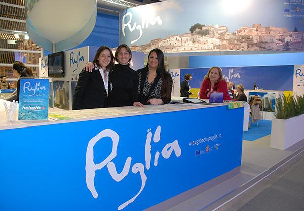 Visitate la Puglia alla fiera del turismo FESPO di Zurigo