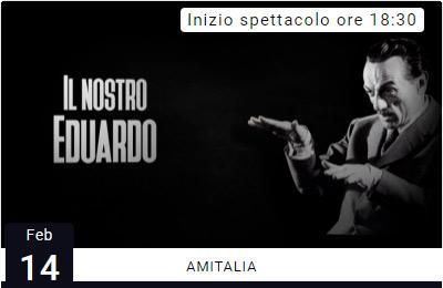 IL NOSTRO EDUARDO - Amitalia - Gli Anniversari Celebri