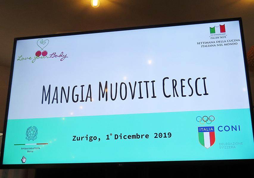 IV Settimana della Cucina Italiana nel Mondo Svizzera