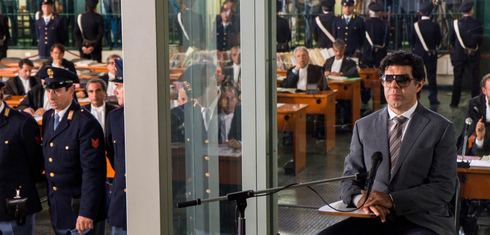 Il traditore copertina mafia carabinieri aula di tribunale