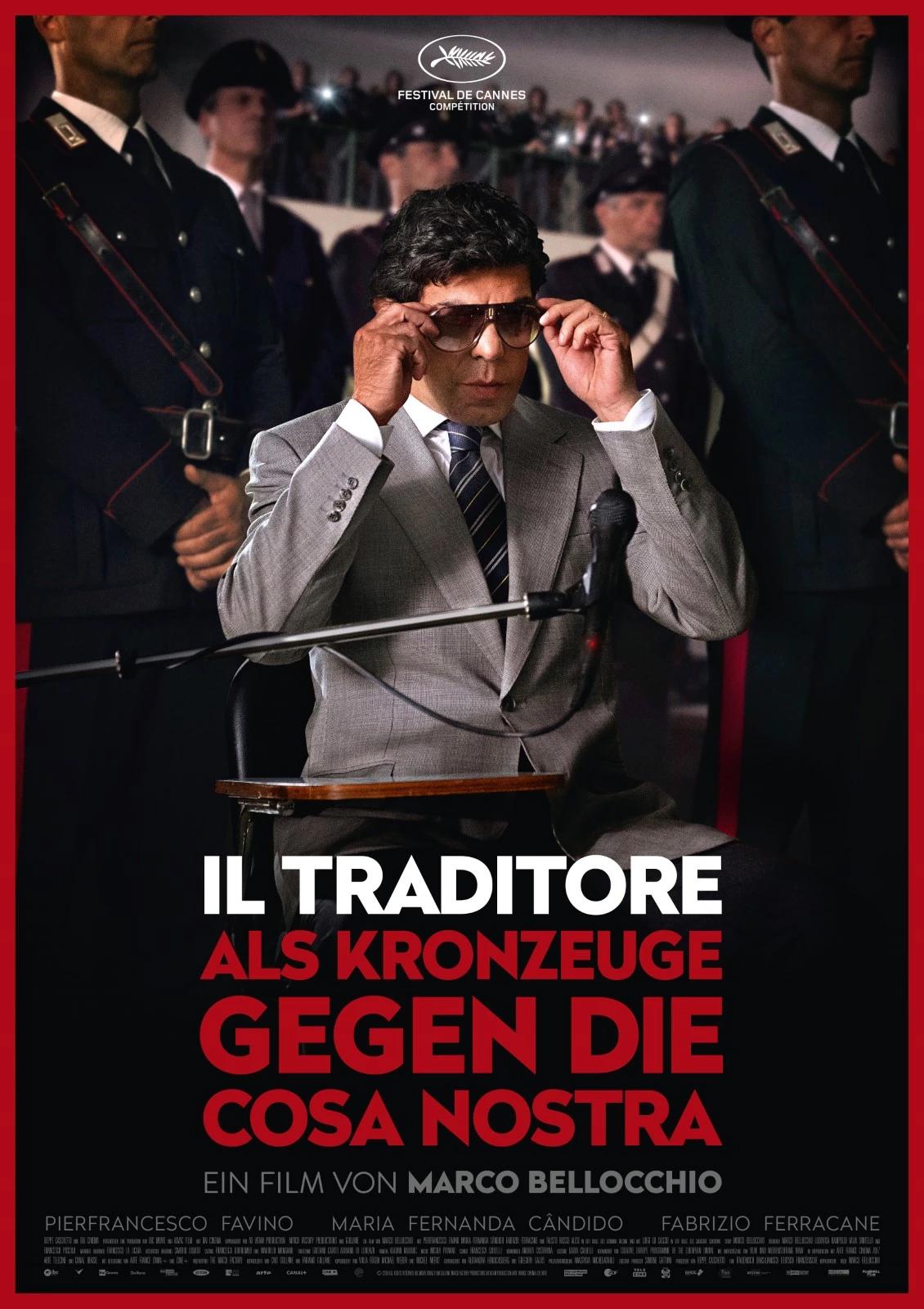 Il traditore film buscetta in brasile cover auf deutsch