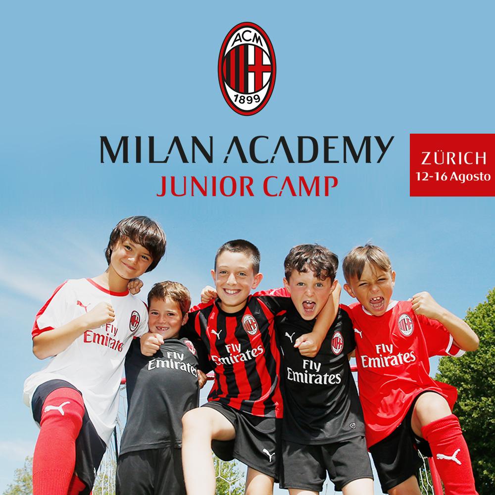 Milan Camp a Zurigo Svizzera