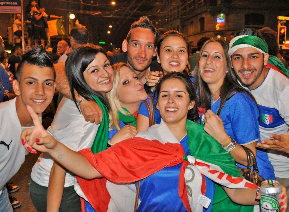 Germania - Italia @ Zurigo 2012 tuttoitalia
