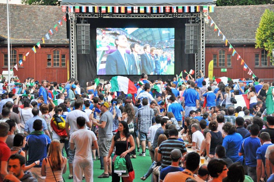 Spagna - Italia @ Winterthur - Winti-Arena  2012 tuttoitalia