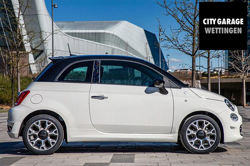 Nuovi modelli speciali Fiat 500 Hey Google
