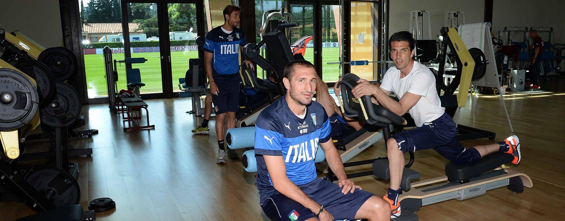 Euro 2020 La Nazionale Italiana di calcio sceglie ancora una volta Technogym