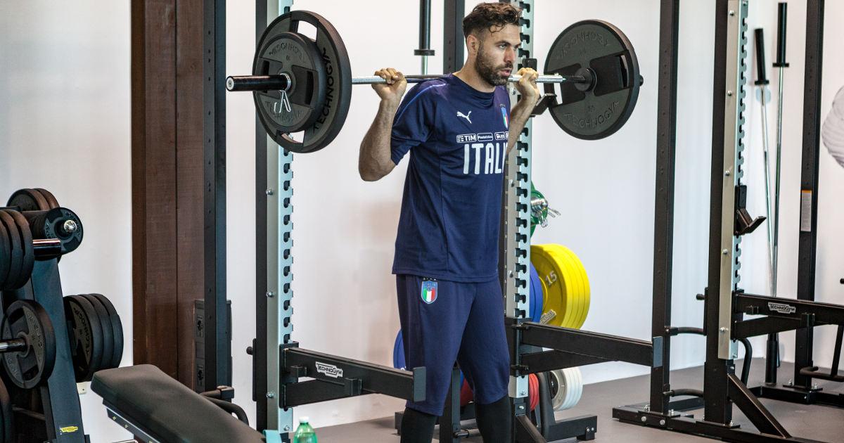 La Nazionale sceglie ancora una volta TechnogymEuro 2020 La Nazionale Italiana di calcio sceglie ancora una volta Technogym