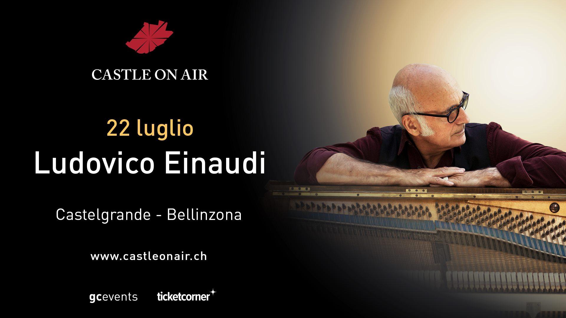 Ludovico Einaudi Castle On Air 2021 Bellinzona