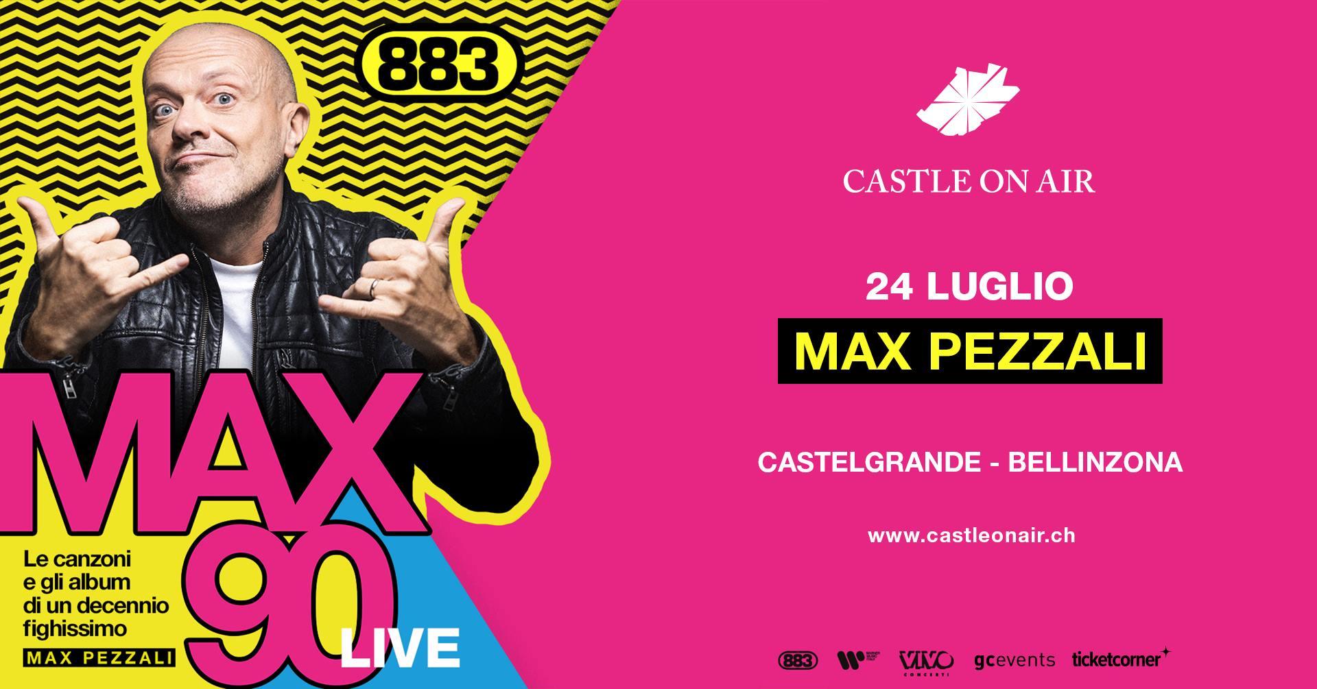 Max Pezzali Castle On Air 2021 Bellinzona