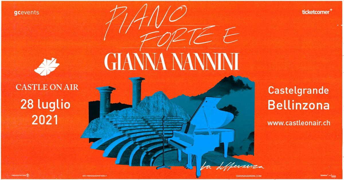 Gianna Nannini Castle On Air 2021 Bellinzona