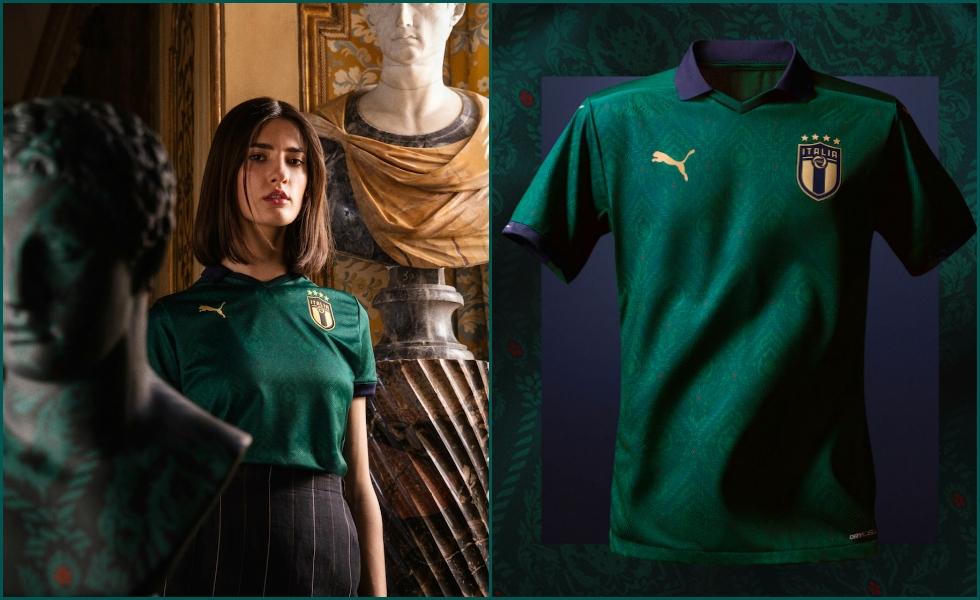Maglia Nazionale di calcio euro 2020 2021 Puma verde Tuttoitalia