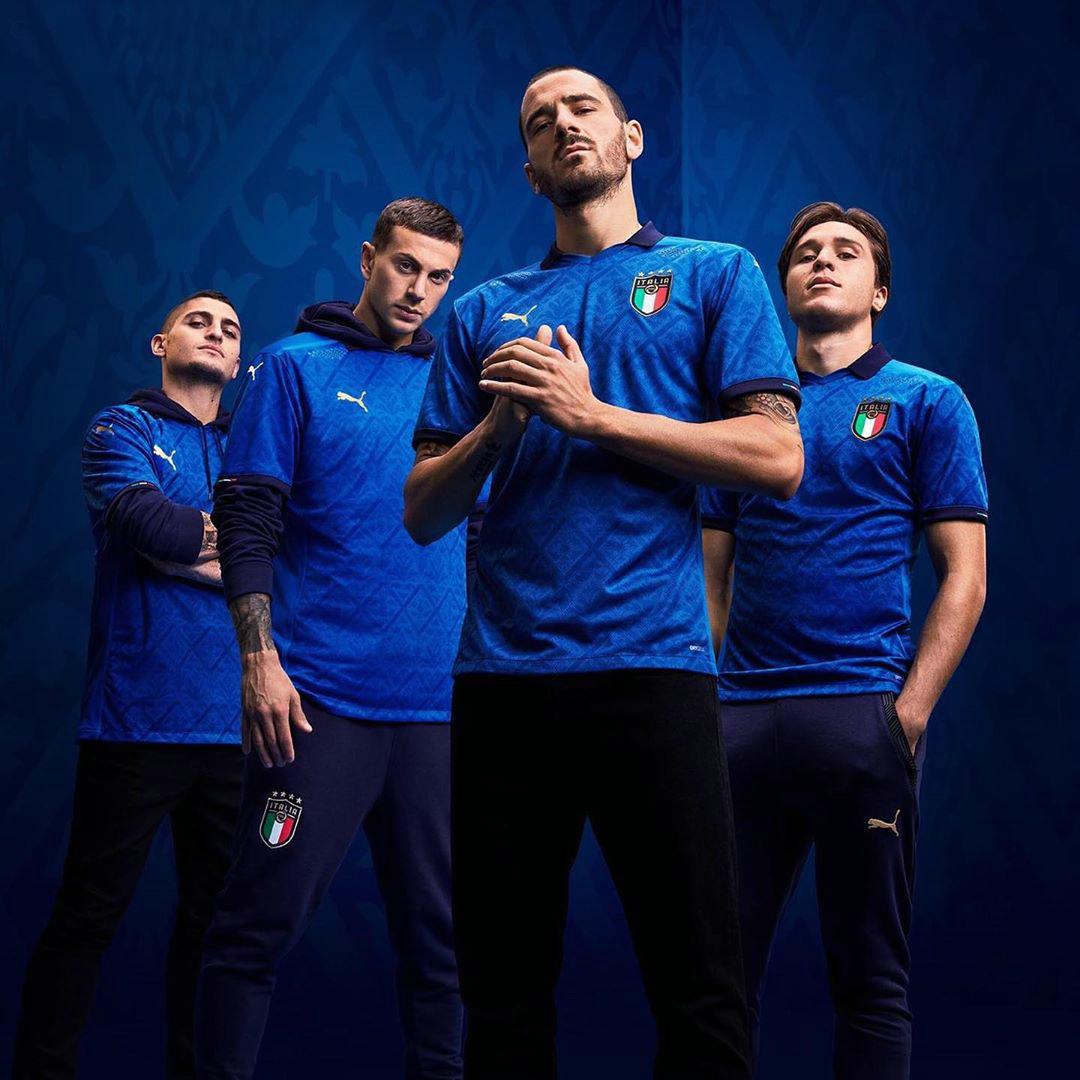 Azzuri Nazionale di calcio euro 2020 2021 Puma Tuttoitalia