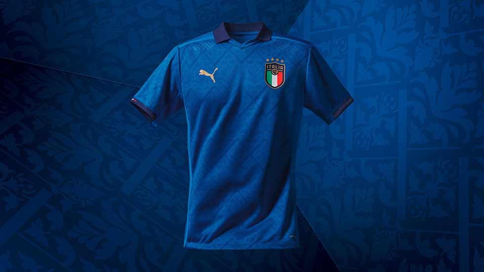 Maglia Nazionale di calcio italia azzurra Puma Tuttoitalia