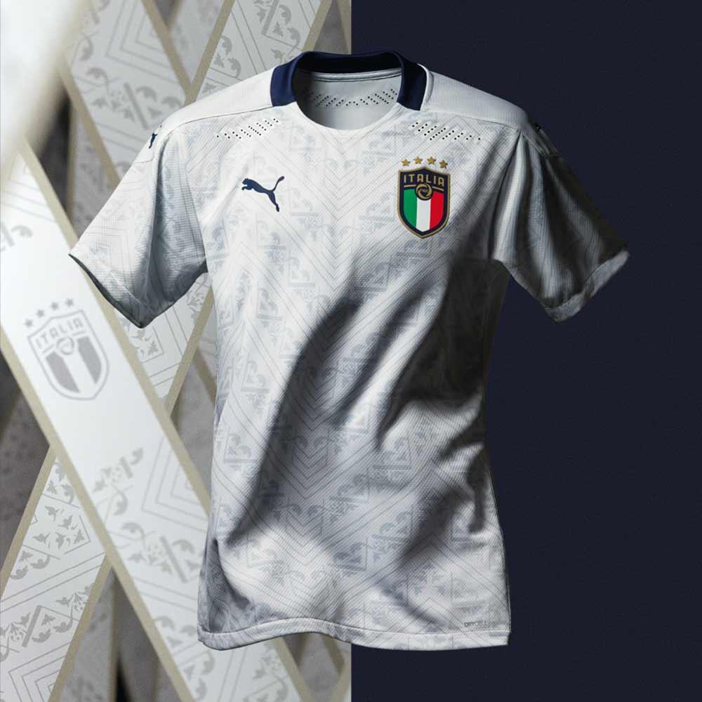 Nazionale di calcio euro 2020 2021 Puma bianca Tuttoitalia