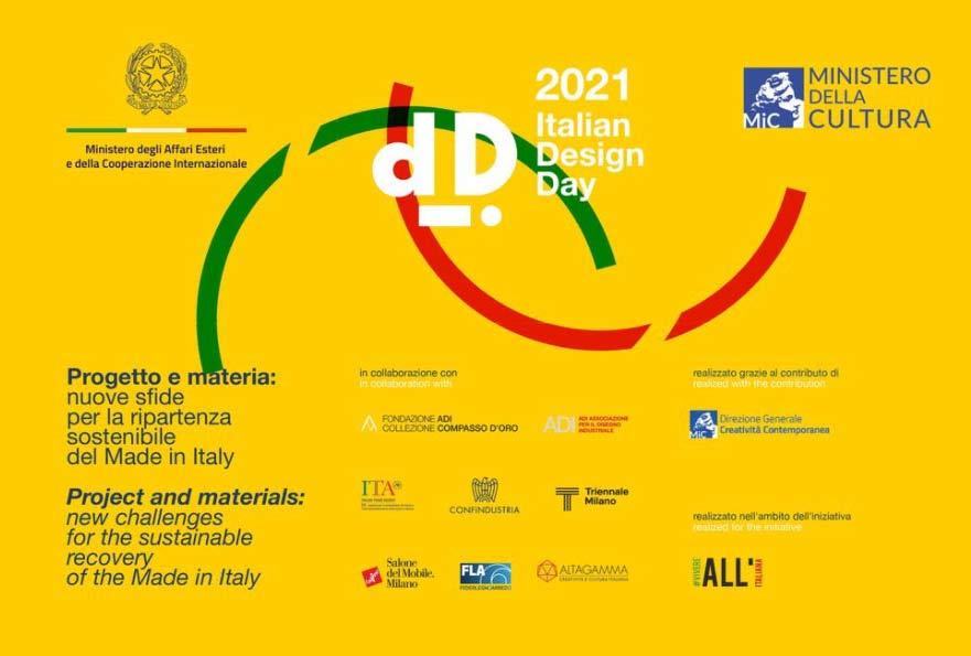 IV edizione della Giornata del Design Italiano nel mondo 2021