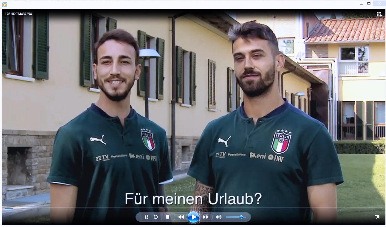 La Nazionale di calcio scende in campo a sostegno del turismo italiano