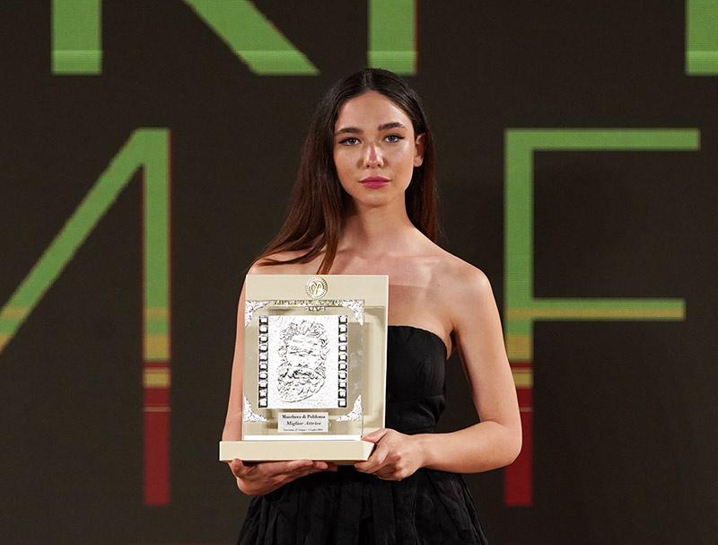 """Matilda De Angelis protagonista di """"Atlas"""", premiata a Taormina come migliore attrice"""