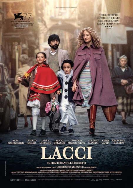Lacci (Laces) the new film by Daniele Luchetti cover
