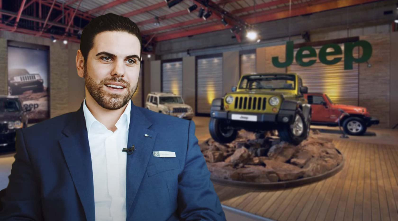 Una vera passione per l'automobile, Marco Mele nuovo responsabile Jeep