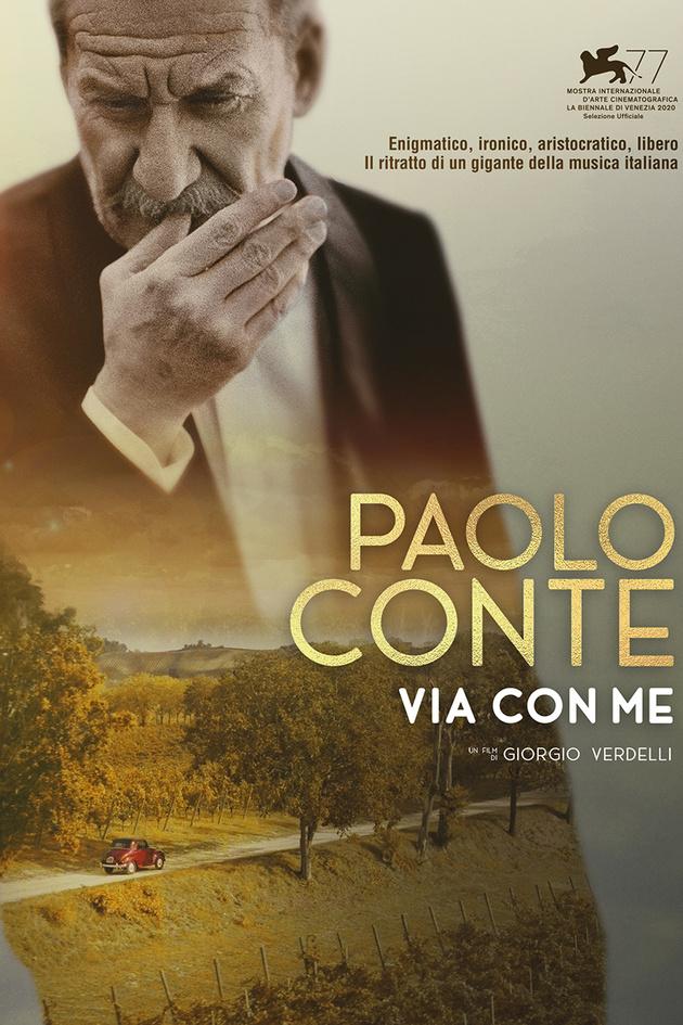"""Paolo Conte """"Via Con Me"""" al cinema a Ginevra"""