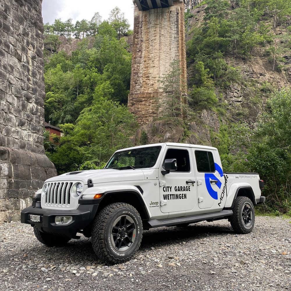 Jeep Gladiator 2021 nur bei City Garage Wettingen Marco Mele