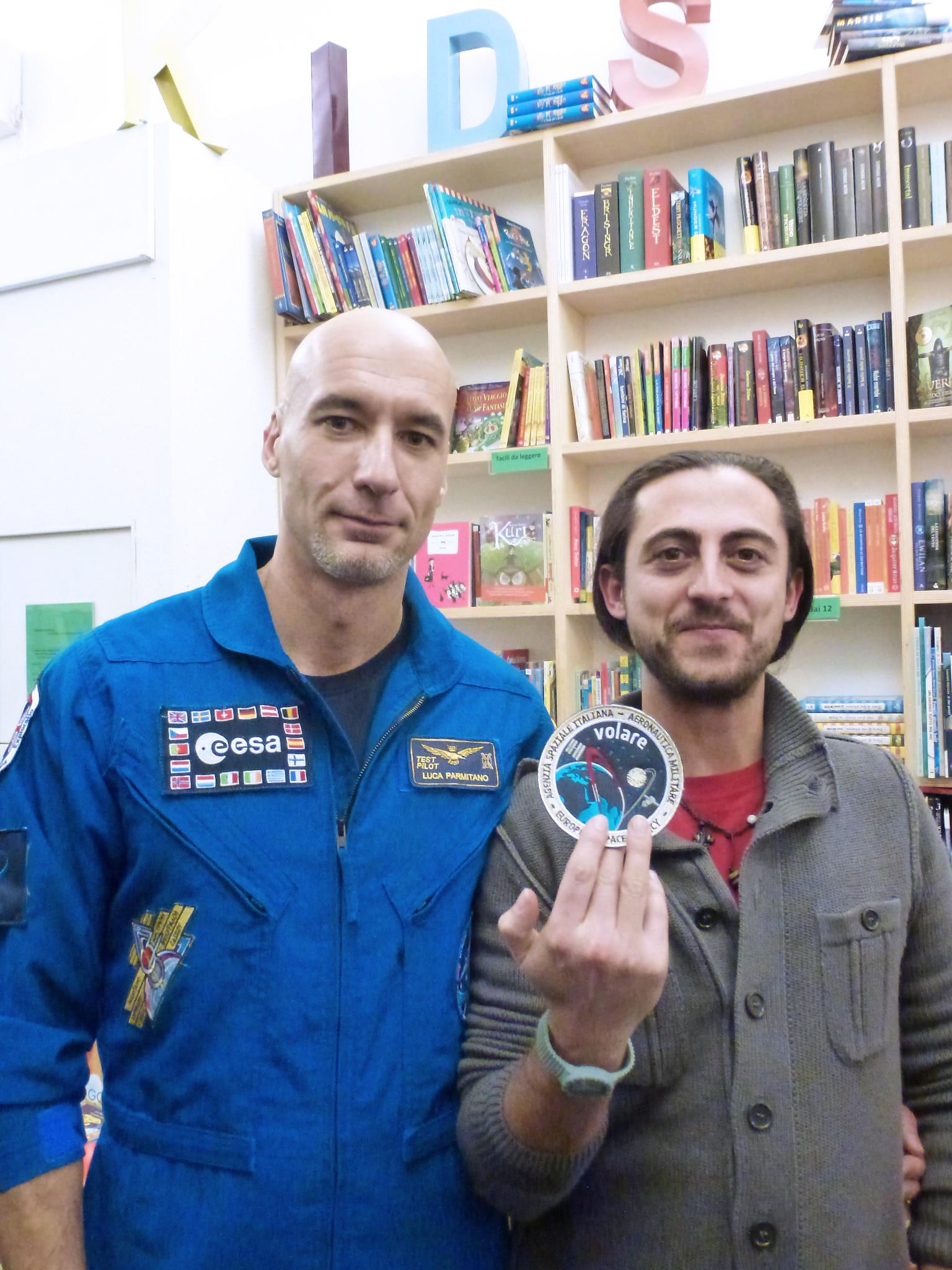 Norberto Cioffi e Luca Parmitano Tuttoitalia