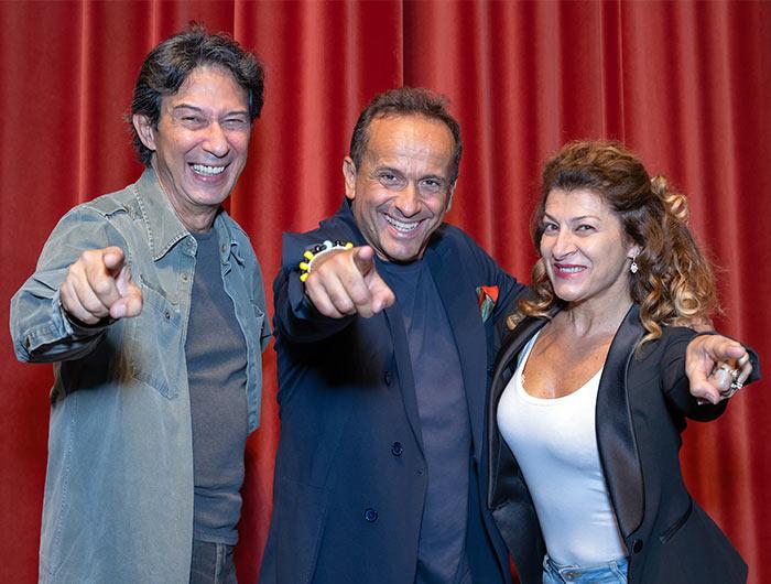 Uccio de Santis e il Cabaret dei Mudù tornano a Zurigo e a Lugano