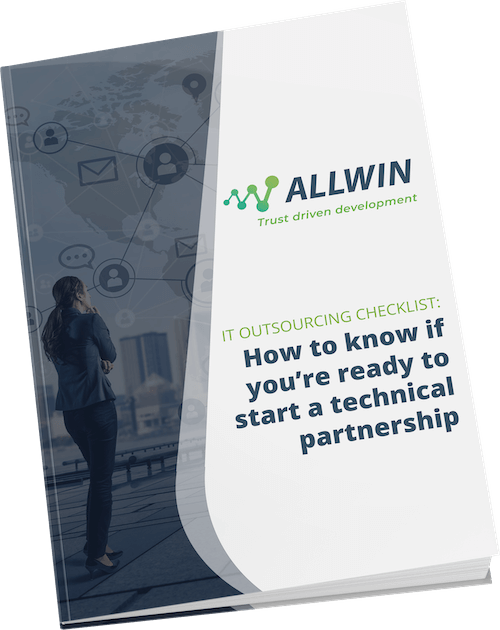 Allwin IT Outsourcinh whitepaper cover