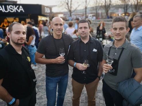 Allwin team wine festival