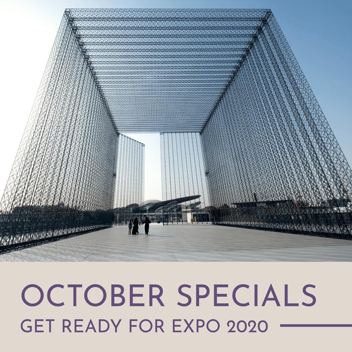 See October Specials
