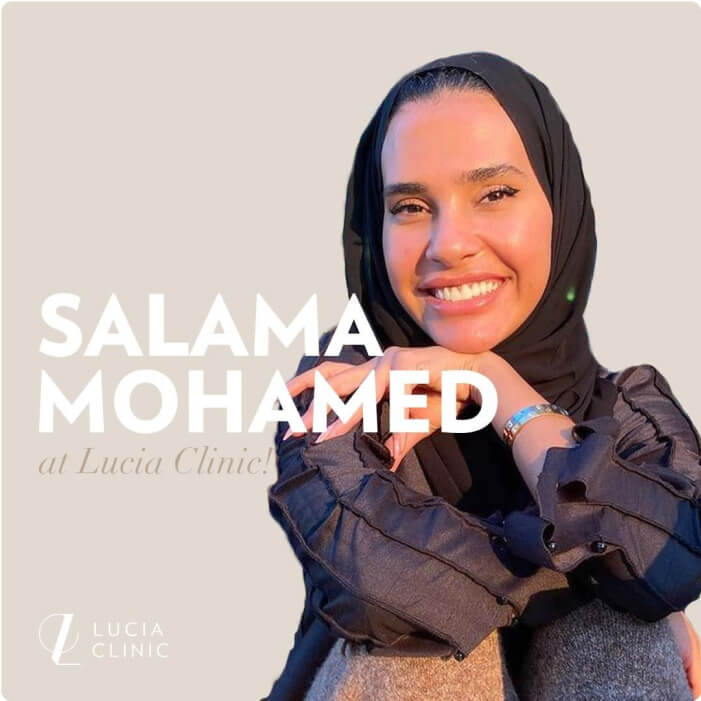 Salama Mohamed at Lucia Clinic!