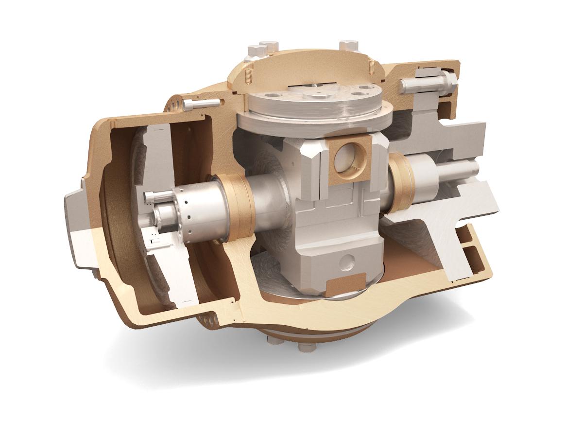 Brunvoll ECP propeller hub mechanism