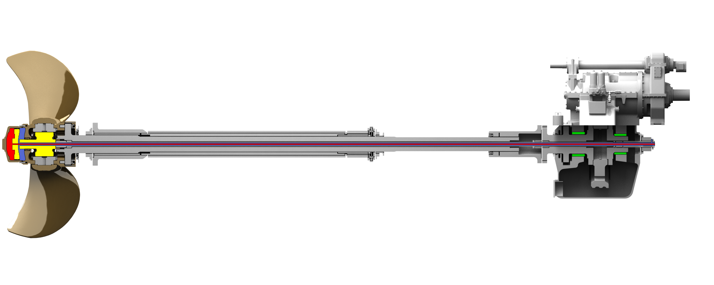 Brunvoll ECP Propeller system with hub servo