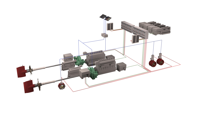 Brunvoll Hybrid Propulsion System