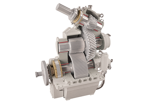 Spindrift Reduction Gearbox