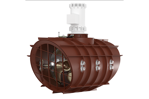 LowNoise Tunnel Thrusters